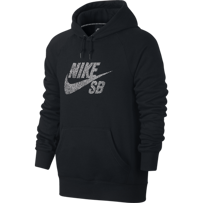 BLUZA NIKE SB ICON DOTS HOODIE Black / White