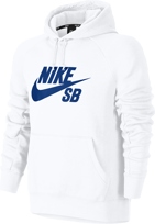 BLUZA NIKE SB SB Icon Hoodie (White / Hyper Royal)
