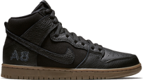 BUTY NIKE SB X ANTIHERO ZOOM DUNK HIGH PRO QS (BLACK/GUM/BROWN)