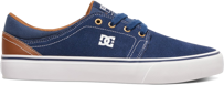 Buty DC SKATEBOARDING Trase S Low-Top Navy / Dark Chocolate