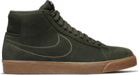 Buty NIKE SB AIR ZOOM BLAZER MID Sequoia / Medium Olive
