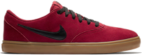 Buty NIKE SB Check Solarsoft (RED / GUM)