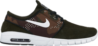 Buty NIKE SB Stefan Janoski Suede MAX SUEDE Sequoia / White