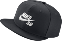 CZAPKA NIKE SB ICON SNAPBACK Black / White
