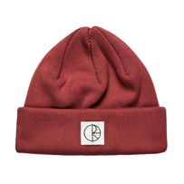CZAPKA ZIMOWA POLAR SKATE CO. DOUBLE FOLD BEANIE (BRICK RED)