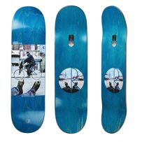 DECK POLAR SKATE CO. AARON HERRINGTON - HAPPY SAD AROUND THE WORLD (VARIOUS STAIN)