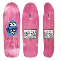 DECK POLAR SKATE CO. DANE BRADY - DANE FACE (WOOD STAIN) DANE 1 SPECIAL SHAPE