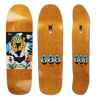 DECK POLAR SKATE CO. NICK BOSERIO LION KING 1991