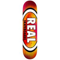DECK REAL SKATEBOARDS TIE DIE OVAL 8,38""