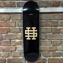 DECK SH OG LOGO (BLACK/WOOD)