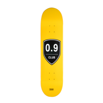 DECK SOUR SKATEBOARD 0,9 CLUB YELLOW 7,9""