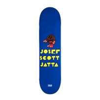 DECK SOUR SKATEBOARD JOSEF SCOTT JATTA PACKMAN