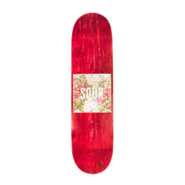 DECK SOUR SKATEBOARDS PARC GUELL (RED) 8,125""