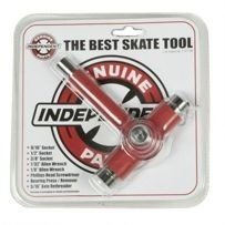 KLUCZ INDEPENDENT THE BEST SKATE TOOL NONE (RED)