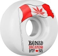 KOŁA BONES WHEELS STF PRO DECENZO FLOWERS V2 53 MM