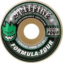 KOŁA SPITFIRE FORMULA FOUR GREEN PRINT CONICAL 101DU 51 MM
