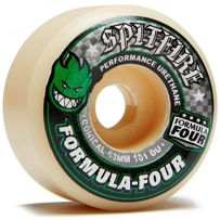 KOŁA SPITFIRE FORMULA FOUR GREEN PRINT CONICAL 101DU 54 MM