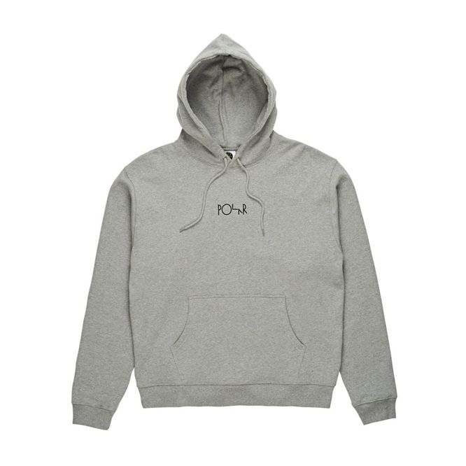 BLUZA POLAR SKATE CO. AMERICAN FLEECE HOOD (GREY HEATHER)