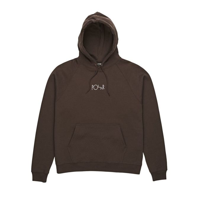 BLUZA POLAR SKATE CO. DEFAULT HOOD (BROWN)