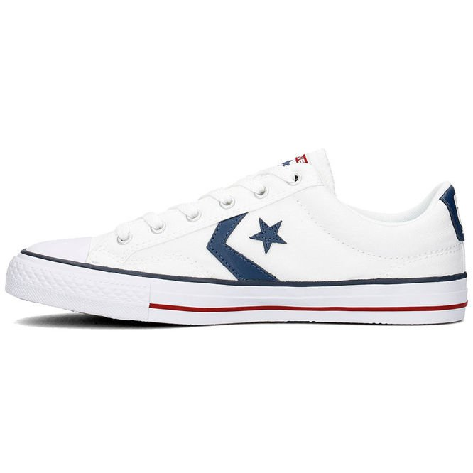 BUTY CONVERSE CONS STAR PLAYER OX WHITE/WHITE/NAVY