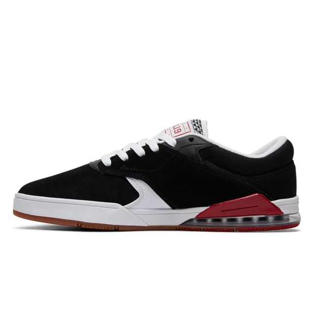 BUTY DC SKATEBOARDING TIAGO S (BLACK/WHITE/RED)