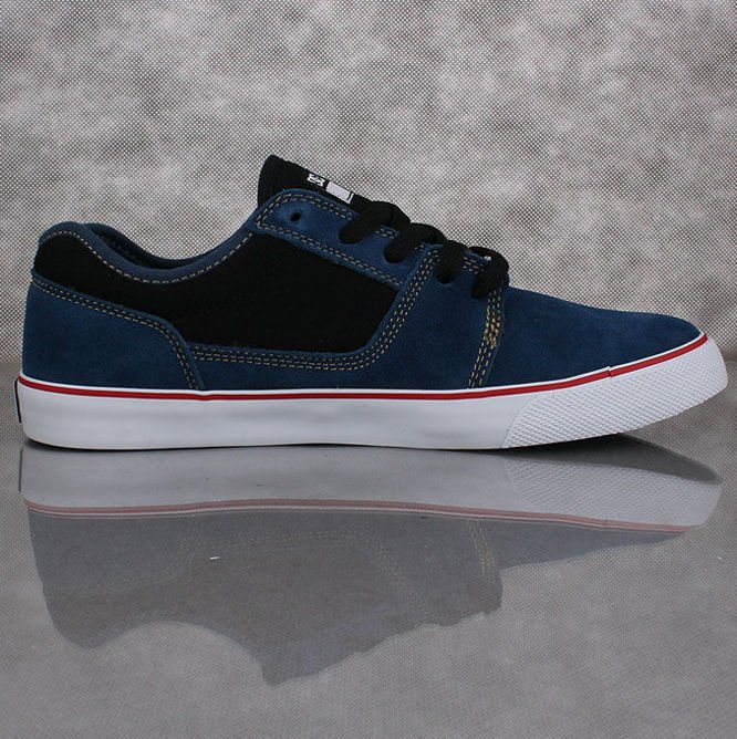 BUTY DC SKATEBOARDING Tonik S Dark Denim / White