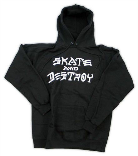 Bluza z kapturem Thrasher Skate & Destroy Black