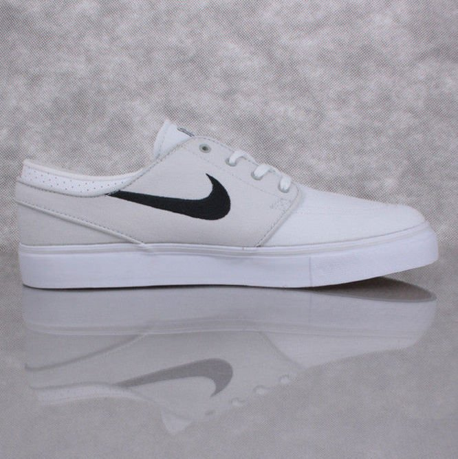 Buty NIKE SB Zoom Stefan Janoski CNVS Light Base Grey / White
