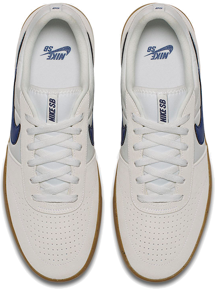 BUTY NIKE SB TEAM CLASSIC (SUMMIT WHITE / BLUE)