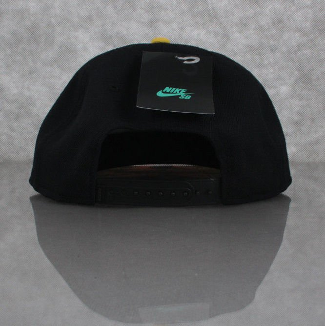 CZAPKA NIKE SB Party Snapback Black / Black / Varsity Maize