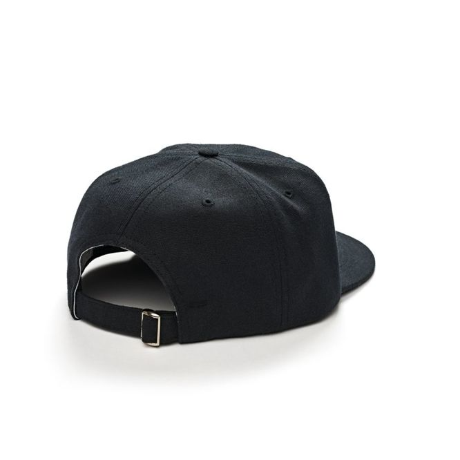 CZAPKA Z DASZKIEM POLAR SKATE CO. CANVAS CAP (BLACK)