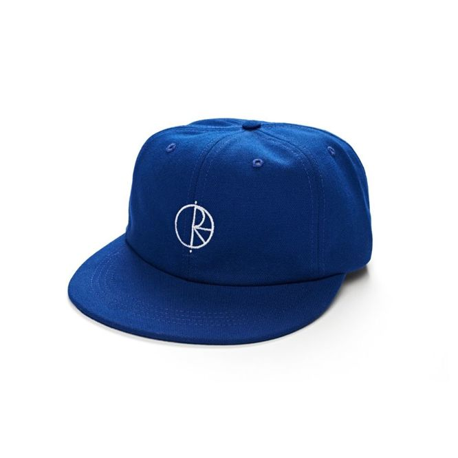 CZAPKA Z DASZKIEM POLAR SKATE CO. CANVAS CAP (ROYAL BLUE)