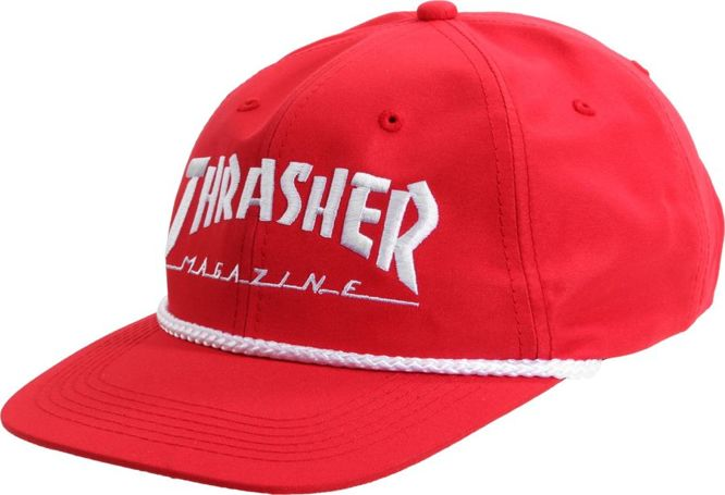 Czapka Thrasher Rope Snapback (Red / White)