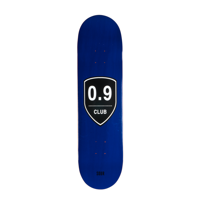 DECK SOUR SKATEBOARD 0,9 CLUB BLUE 8,25""