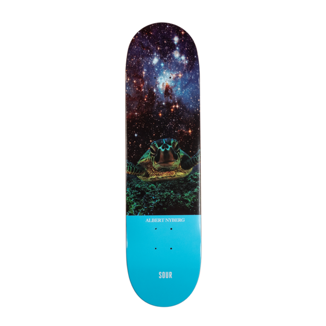 DECK SOUR SKATEBOARDS ALBERT NYBERG TURTLE 8,125""