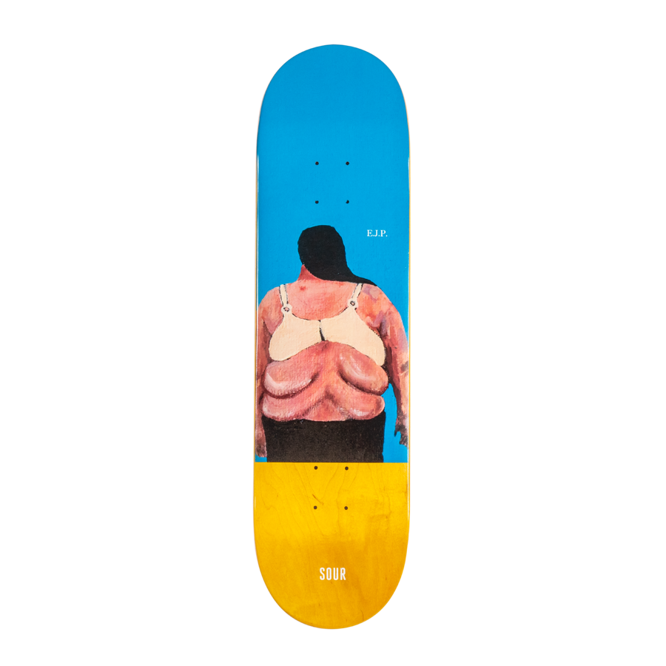 DECK SOUR SKATEBOARDS EJP X JANOSKI