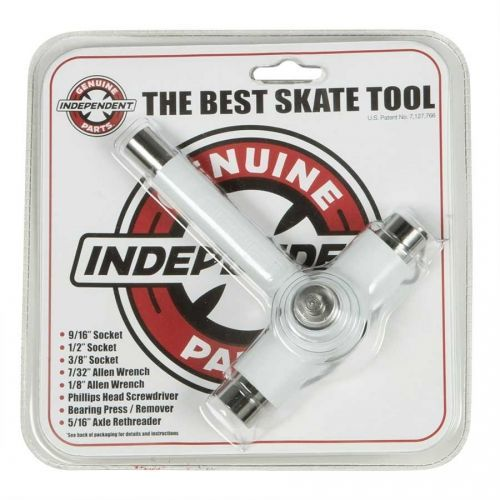 KLUCZ INDEPENDENT THE BEST SKATE TOOL NONE (WHITE)