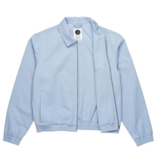 KURTKA POLAR SKATE CO. HERRINGTON JACKET (DUSTY BLUE)