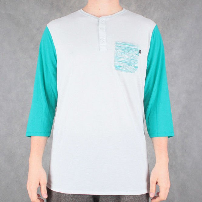LONGSLEEVE 3/4 NIKE SB Everett DRI-FIT Base Grey / Turbo Green