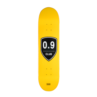 DECK SOUR SKATEBOARD 0,9 CLUB YELLOW 7,875""