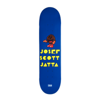 DECK SOUR SKATEBOARD JOSEF SCOTT JATTA PACKMAN 8,5""