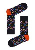 SKARPETY HAPPY SOCKS PAPER CUT (BLACK)