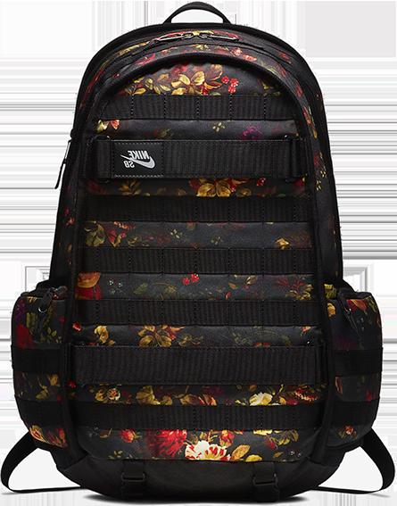 Plecak NIKE SB RPM Graphic (Black / Floral)
