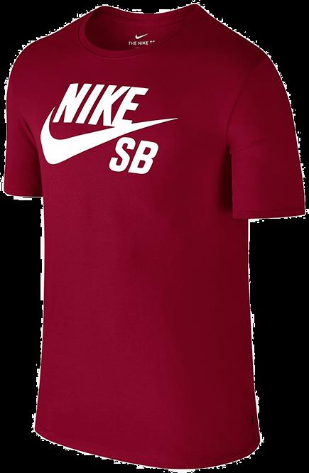 53fc1c6f9 Koszulka Nike SB Logo T-Shirt (Red Crush / White) ...