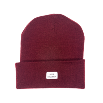CZAPKA SOUR SKATEBOARDS GM BEANIE (WINE)