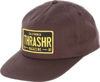 CZAPKA THRASHER DMV SNAP (BROWN)
