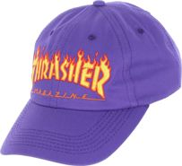 CZAPKA THRASHER FLAME OLD TIMER (PURPLE)