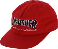 CZAPKA THRASHER OUTLINED SNAPBACK (RED)