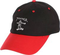Czapka Thrasher Gonz Oldtimer (Black / Red)