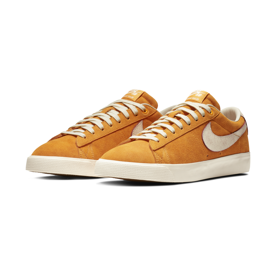 promo code 21b2a 0db8b Buty Nike SB Blazer Low GT QS (Circuit Orange  Natural)